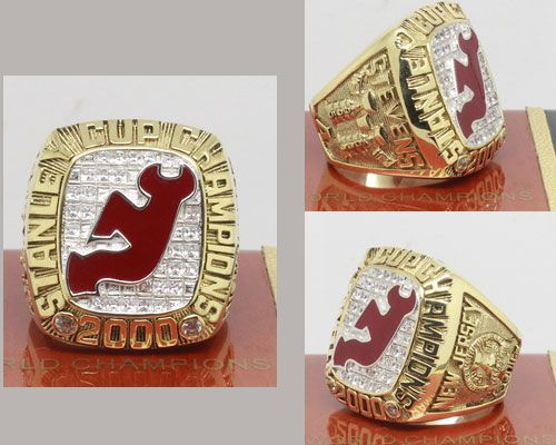 2000 NHL Championship Rings New Jersey Devils Stanley Cup Ring