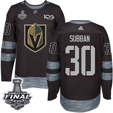 ... italy adidas golden knights 30 malcolm subban black 1917 2017 100th  anniversary 2018 stanley cup final be61219ca