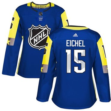 Adidas Sabres #15 Jack Eichel Royal 2018 All-Star Atlantic Division Authentic Women's Stitched NHL Jersey
