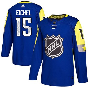 Adidas Sabres #15 Jack Eichel Royal 2018 All-Star Atlantic Division Authentic Youth Stitched NHL Jersey