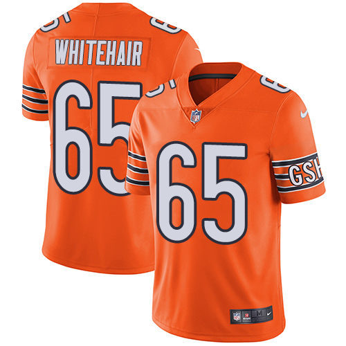Bears #65 Cody Whitehair Orange Youth Stitched Football Limited Rush Jersey