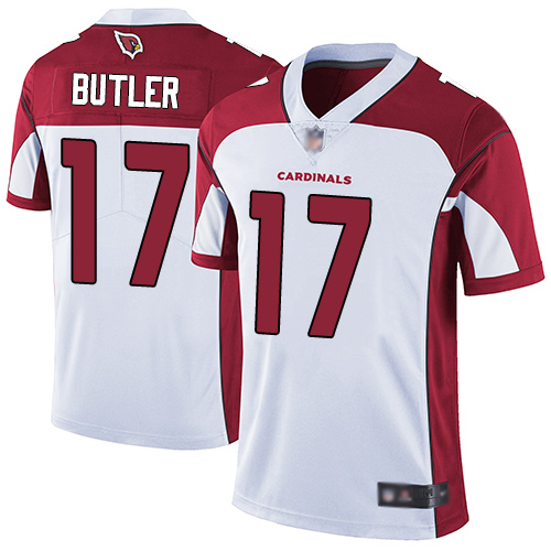 Cardinals #17 Hakeem Butler White Men's Stitched Football Vapor Untouchable Limited Jersey