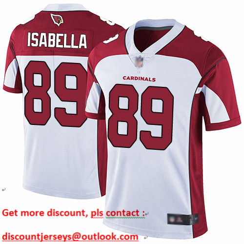 Cardinals #89 Andy Isabella White Youth Stitched Football Vapor Untouchable Limited Jersey