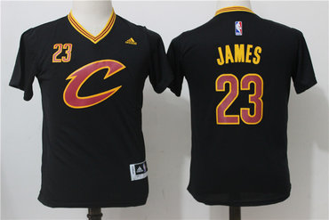 buy popular bbf57 a824b Youth Cleveland Cavaliers #23 LeBron James Navy Blue 2015 ...