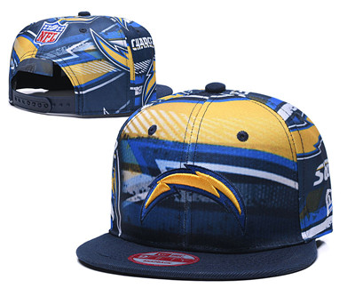Chargers Team Logo Navy Adjustable Hat TX