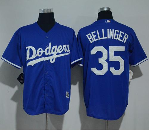 Dodgers  35 Cody Bellinger Blue New Cool Base Stitched MLB Jersey 930fee91e