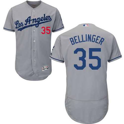Dodgers  35 Cody Bellinger Grey Flexbase Authentic Collection Stitched MLB  Jersey f6fbd4bf1