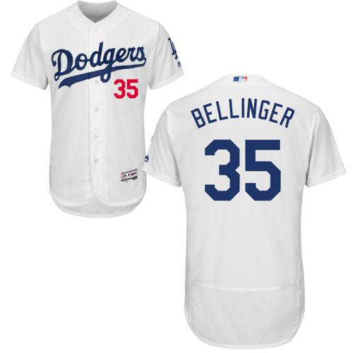 Dodgers  35 Cody Bellinger White Flexbase Authentic Collection Stitched MLB  Jersey dbc1af94d