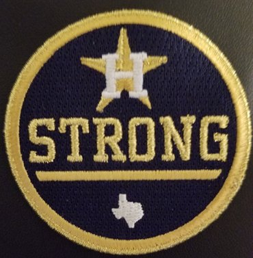 Houston Astros Stong Black Patch