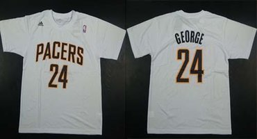 Indiana Pacers #24 George White NBA T-Shirt