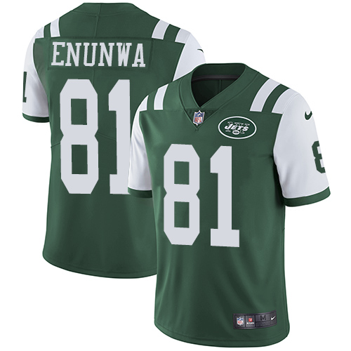 Jets #81 Quincy Enunwa Green Team Color Men's Stitched Football Vapor Untouchable Limited Jersey