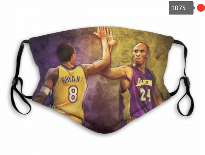 Lakers Kobe Mask with Filter Double Protection PM2.5 (8)
