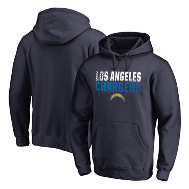 c703bdb3129 Men s Los Angeles Chargers NFL Pro Line By Fanatics Branded Navy Iconic  Collection Fade Out Pullover