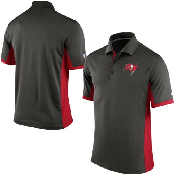 Men's Tampa Bay Buccaneers Nike Pewter Team Issue Performance Polo