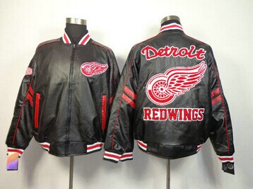 NHL Detroit Red Wings Leather Jacket