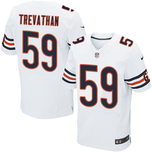 Nike Bears  59 Danny Trevathan White Men s Stitched NFL Elite Jersey f73161472