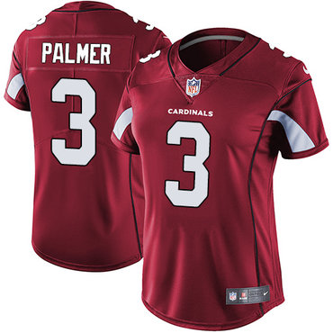 ... raiders derek carr black  nike cardinals 3 carson palmer red team color  womens stitched nfl vapor untouchable limited jersey 490f5412b