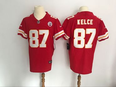 Nike Chiefs 87 Travis Kelce Red Vapor Untouchable Player Elite Jersey be51f3f86