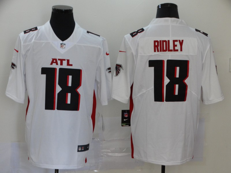 Nike Falcons 18 Calvin Ridley White 2020 New Vapor Untouchable Limited Jersey