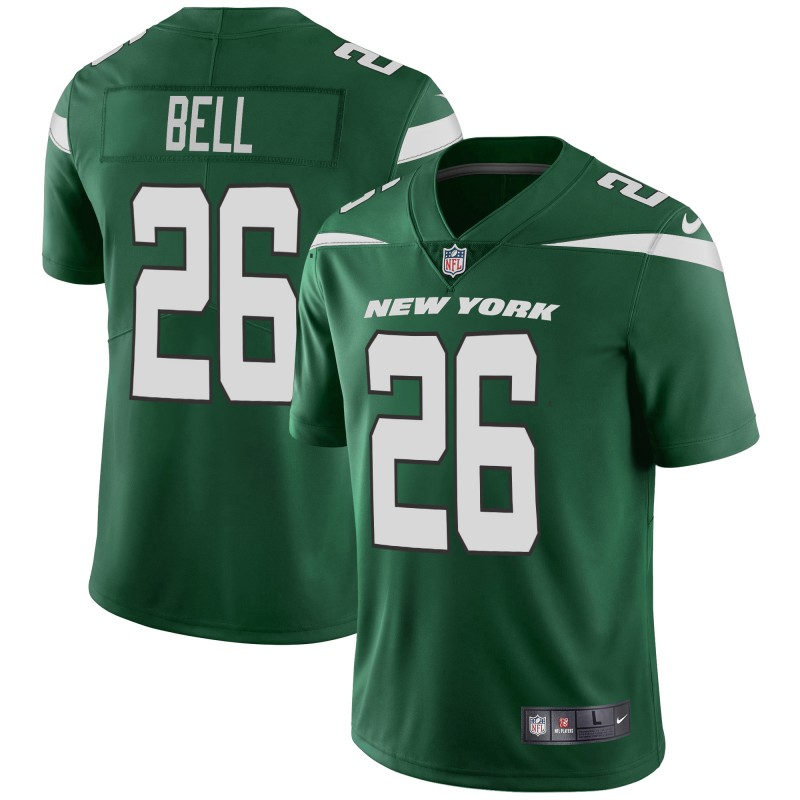 Nike Jets 26 Le'Veon Bell Green New 2019 Vapor Untouchable Limited Jersey
