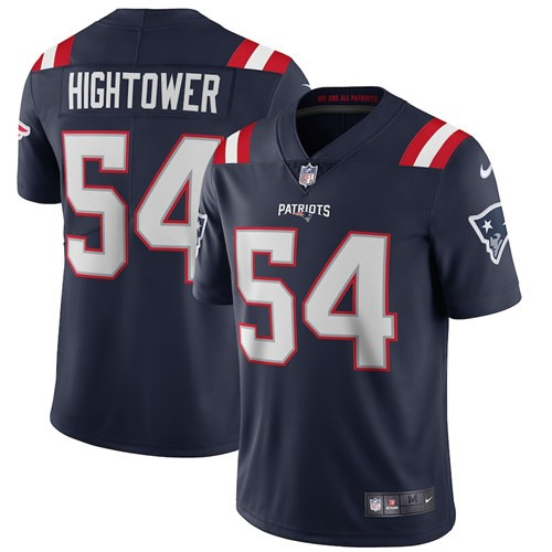 Nike Patriots 54 Dont'a Hightower Navy 2020 New Vapor Untouchable Limited Jersey