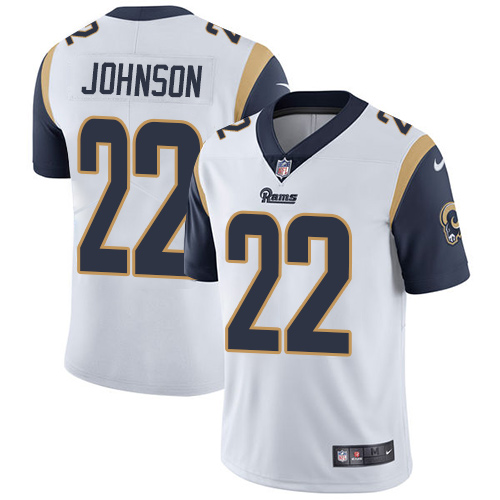 New Nike Rams #22 Trumaine Johnson Navy Blue Team Color Youth Stitched  hot sale