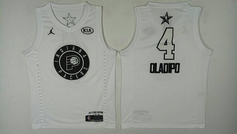 Pacers 4 Victor Oladipo White 2018 All-Star Game Jordan Brand Authentic  Jersey 2cf470247