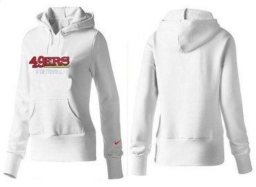 New Women San Francisco 49ers Logo Pullover Hoodie 42  for sale